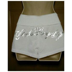 "PINK Victoria's Secret Shorts - NWOT PINK VICTORIA'S SECRET ""PINK ROYALTY"" SHORTS"